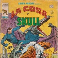 Cómics: CÓMIC VÉRTICE V.2 ´ SUPER HEROES ´ Nº 100 VOL.2 MARVEL ´ LA COSA Y SKULL ´ 1978. Lote 202496523