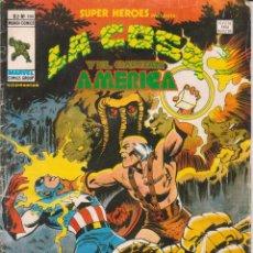 Cómics: CÓMIC VÉRTICE V.2 ´ SUPER HEROES ´ Nº 104 VOL.2 MARVEL ´ LA COSA Y EL CAPITÁN AMÉRICA ´ 1978. Lote 202496875