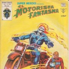 Cómics: CÓMIC VÉRTICE V.2 ´ SUPER HEROES ´ Nº 128 VOL.2 MARVEL ´ EL MOTORISTA FANTASMA ´ 1978. Lote 202497475