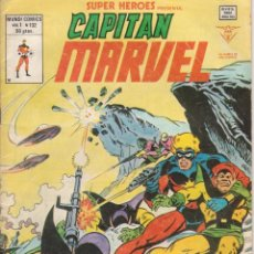 Cómics: CÓMIC VÉRTICE V.2 ´ SUPER HEROES ´ Nº 132 VOL.2 MARVEL ´ CAPITÁN MARVEL ´ 1978. Lote 202497578