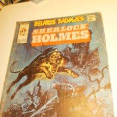 Cómics: RELATOS SALVAJES. SHERLOCK HOLMES. VOL 1 Nº 35 (ALGÚN DEFECTO). Lote 202598971