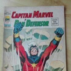 Cómics: HEROES MARVEL VOLUMEN 2 NUMERO 1. CAPITAN MARVEL Y DAN DEFENSOR. CON POSTER. Lote 202618830