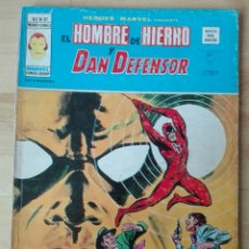 Cómics: HEROES MARVEL VOL. 2, NUMERO 37. HOMBRE DE HIERRO Y DAN DEFENSOR.. Lote 202620427