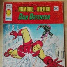 Cómics: HEROES MARVEL VOL.2, Nº 33. HOMBRE DE HIERRO Y DAN DEFENSOR. VERTICE. Lote 202620576