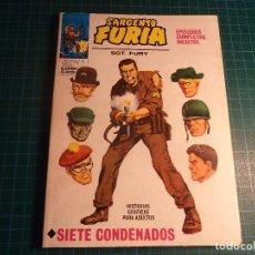 Cómics: SARGENTO FURIA. VOL 1, N° 1. COMPLETO. (T-2).MUY BUEN ESTADO.. Lote 202692982