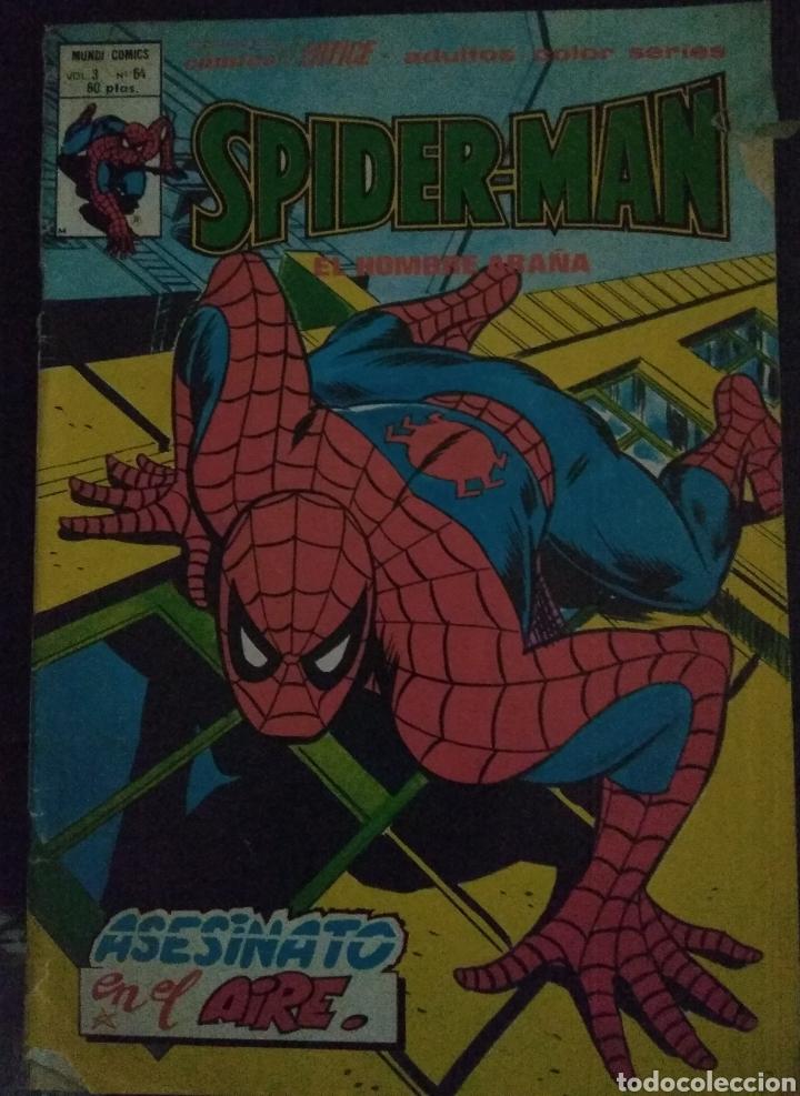 SPIDERMAN - MUNDI COMICS - VOL 3 N 64 (Tebeos y Comics - Vértice - V.3)