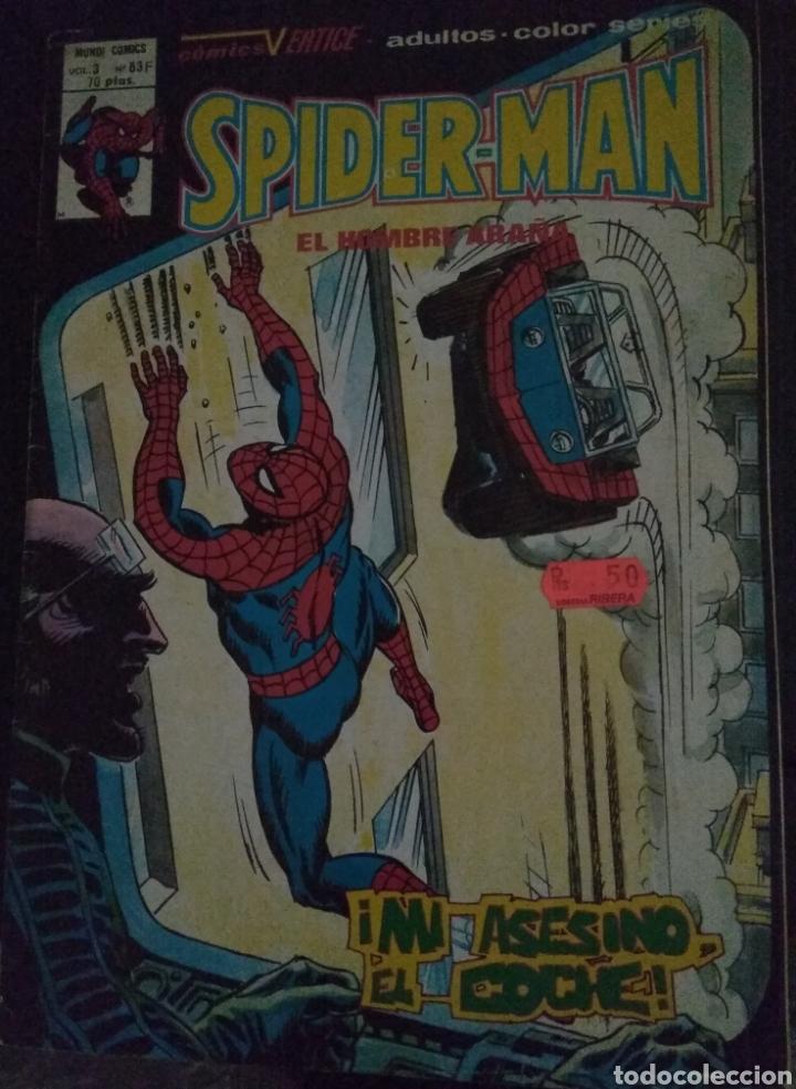 SPIDERMAN - MUNDI COMICS - VOL 3 N 63F (Tebeos y Comics - Vértice - V.3)