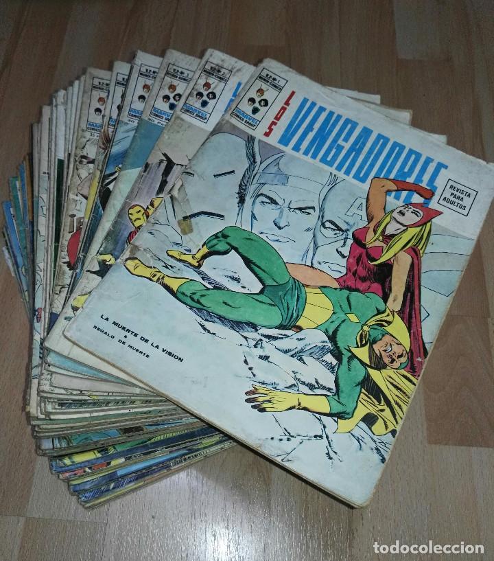 'LOS VENGADORES' VERTICE VOL 2 CASI COMPLETA (Tebeos y Comics - Vértice - Vengadores)