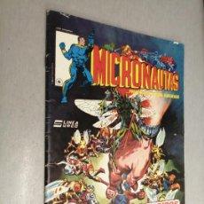 Comics : MICRONAUTAS Nº 6: DIVIDIDOS CAEN / LÍNEA 83 - ED. SURCO. Lote 203138123