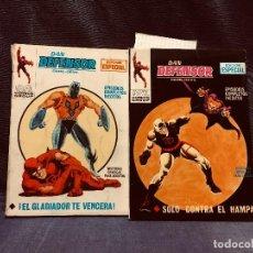 Comics : DAN DEFENSOR DAREDEVIL DARE-DEVIL MARVEL COMICS GROUP ED VERTICE EDICION ESPECIAL N 9 Y N 26 21X15CM. Lote 203226150