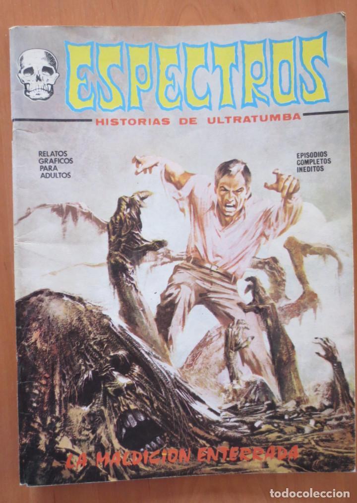 ESPECTROS Nº 7 (Tebeos y Comics - Vértice - Terror)