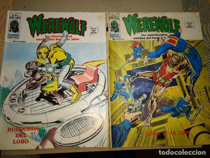 EL HOMBRE LOBO VOLUMEN 2 NUMEROS 17-18 VERTICE. WEREWOLF ORIGINAL AÑOS 70 (Tebeos y Comics - Vértice - Otros)