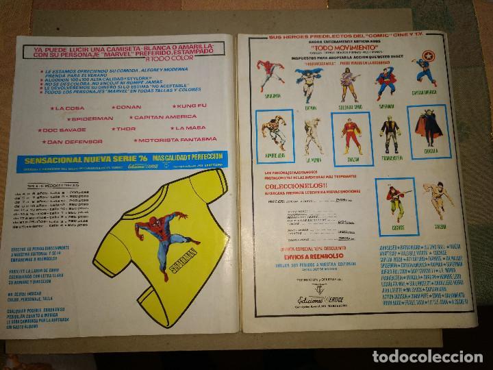 Cómics: EL HOMBRE LOBO VOLUMEN 2 NUMEROS 17-18 VERTICE. WEREWOLF ORIGINAL AÑOS 70 - Foto 2 - 203373668