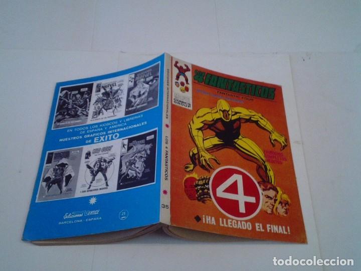 Cómics: LOS 4 FANTASTICOS - VERTICE - VOLUMEN 1 - NUMERO 35 - MUY BUEN ESTADO - IMPECABLE - CJ 26 - GORBAUD - Foto 7 - 203385386
