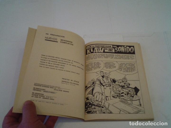 Cómics: LOS 4 FANTASTICOS - VERTICE - VOLUMEN 1 - NUMERO 27 - MUY BUEN ESTADO - CJ 26 - GORBAUD - Foto 3 - 203385617
