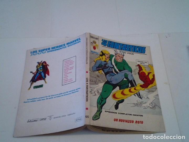 Cómics: LOS 4 FANTASTICOS - VERTICE - VOLUMEN 1 - NUMERO 65 - MUY BUEN ESTADO - IMPECABLE - CJ 26 - GORBAUD - Foto 5 - 203385755