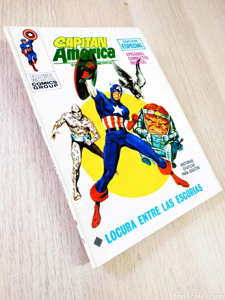 DE KIOSCO CAPITAN AMERICA 15 VERTICE TACO (Tebeos y Comics - Vértice - Capitán América)