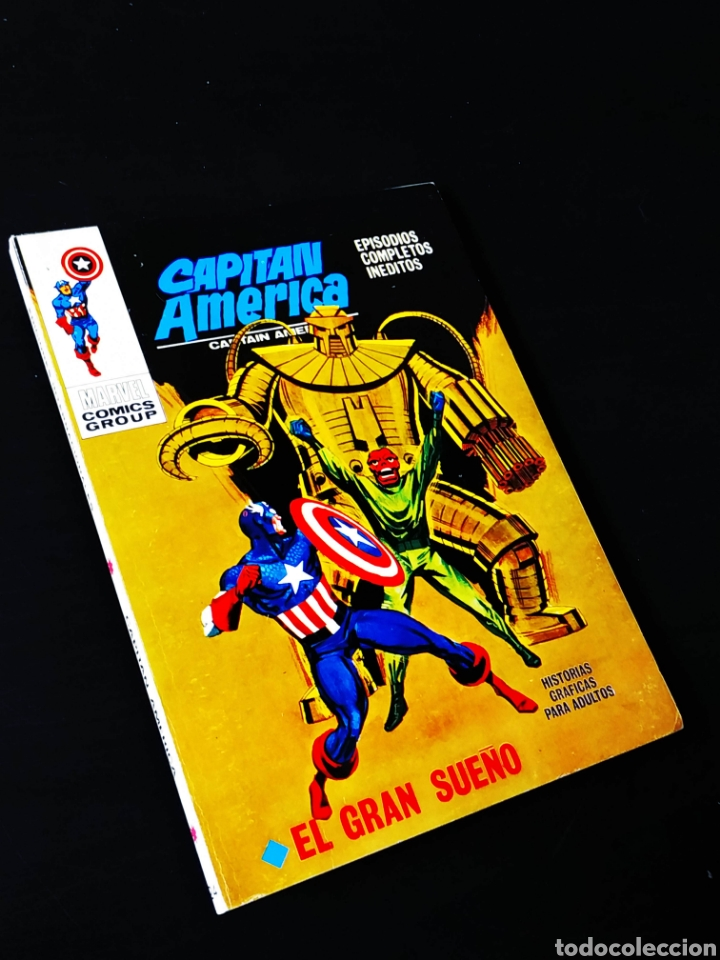 DE KIOSCO CAPITAN AMERICA 24 VERTICE TACO (Tebeos y Comics - Vértice - Capitán América)