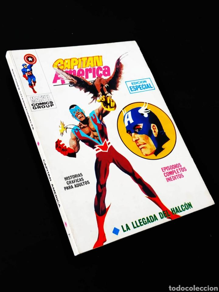 EXCELENTE ESTADO CAPITAN AMERICA 7 VERTICE TACO (Tebeos y Comics - Vértice - Capitán América)
