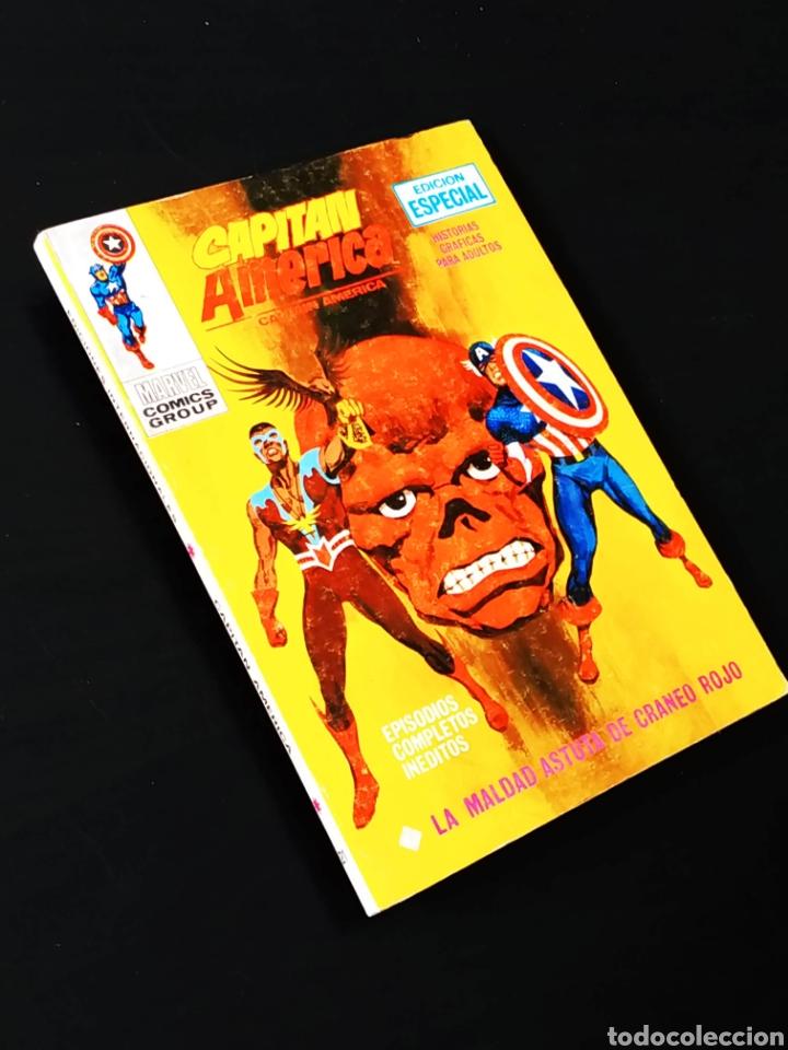 EXCELENTE ESTADO CAPITAN AMERICA 21 VERTICE TACO (Tebeos y Comics - Vértice - Capitán América)