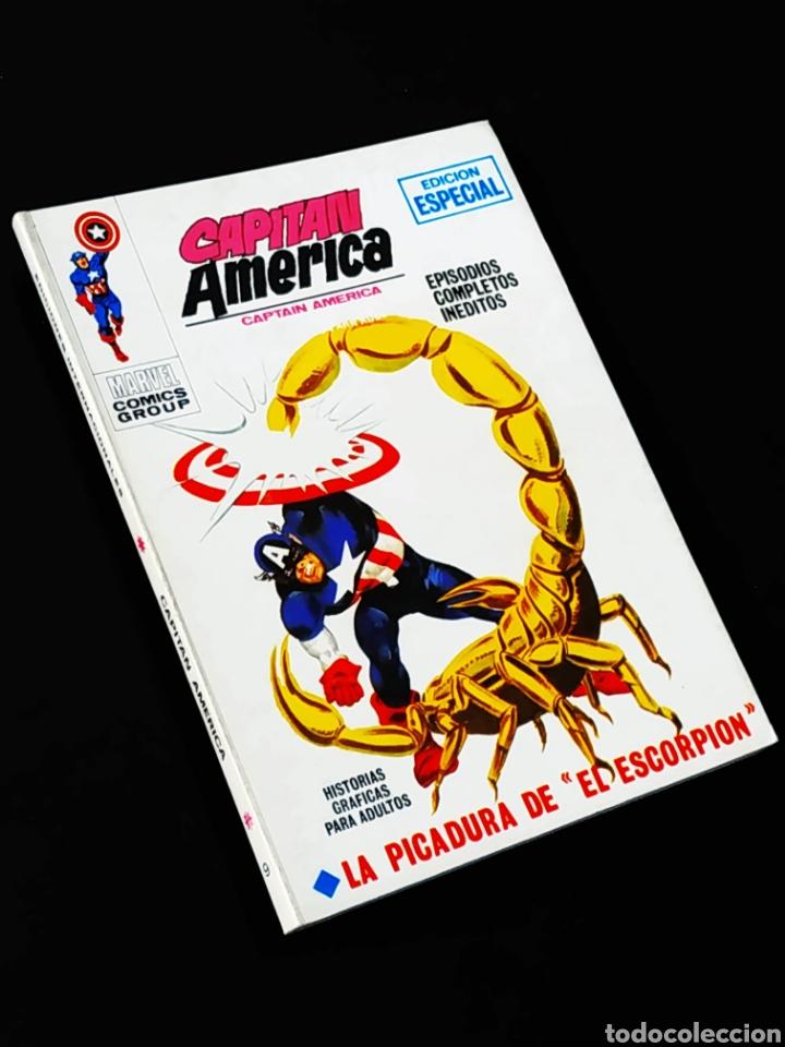 DE KIOSCO CAPITAN AMERICA 9 VERTICE TACO (Tebeos y Comics - Vértice - Capitán América)