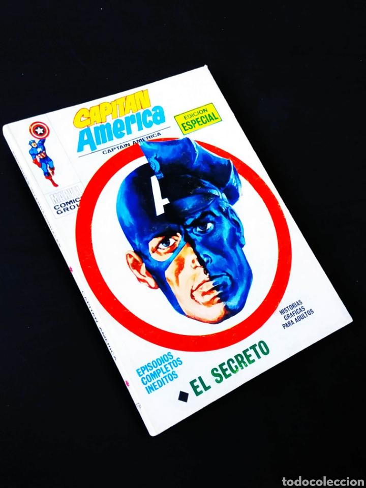 DE KIOSCO CAPITAN AMERICA 19 VERTICE TACO (Tebeos y Comics - Vértice - Capitán América)