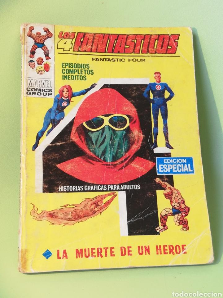 LOS 4 FANTÁSTICOS 17 COMIC EDITORIAL VERTICE (Tebeos y Comics - Vértice - 4 Fantásticos)