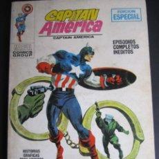 Cómics: CAPITAN AMERICA (1969, VERTICE) 10 · 1969 · DETENED AL CYBORG. Lote 203813906