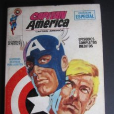 Cómics: CAPITAN AMERICA (1969, VERTICE) 6 · 1969 · TRAS LA MASCARA. Lote 203814688