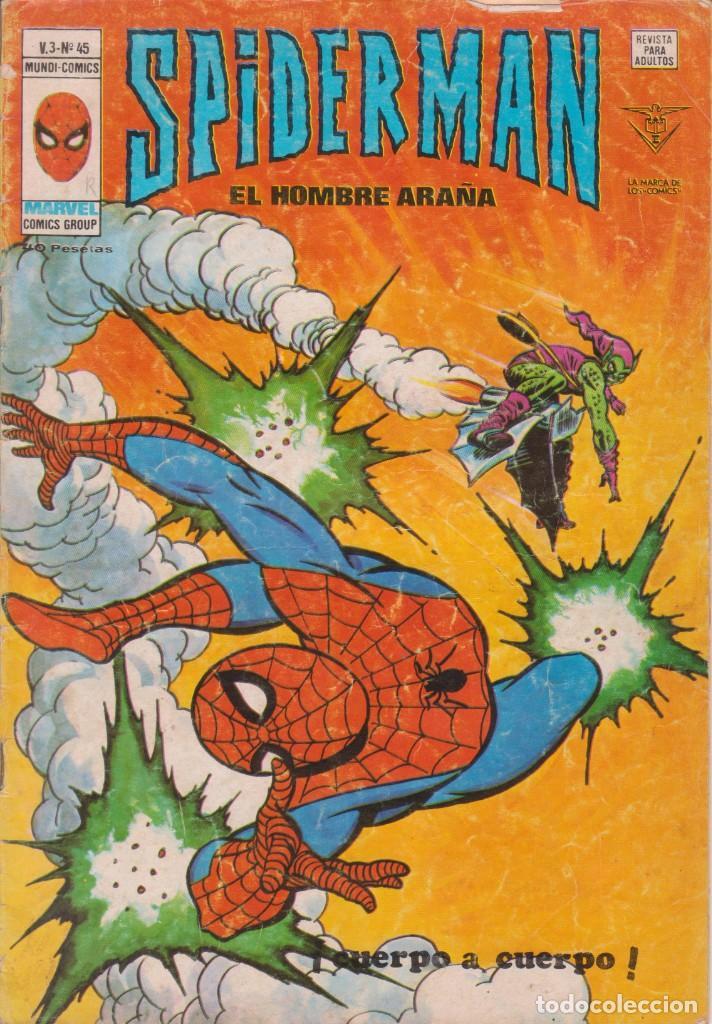 CÓMIC ` SPIDERMAN ´ Nº 45 V.3 ED.VÉRTICE 1978 (Tebeos y Comics - Vértice - V.3)