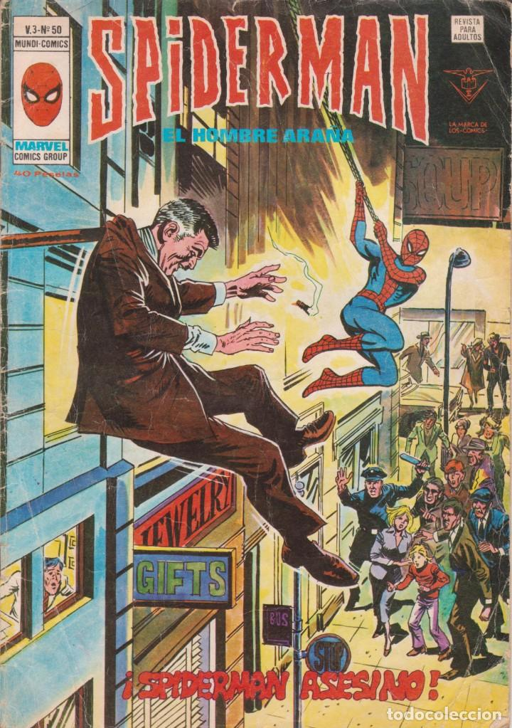 Cómics: CÓMIC ` SPIDERMAN ´ Nº 50 V.3 ED.VÉRTICE 1979 - Foto 1 - 203828103