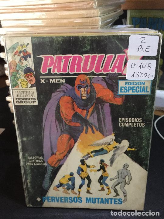 VERTICE PATRULLA X NUMERO 2 BUEN ESTADO (Tebeos y Comics - Vértice - Patrulla X)