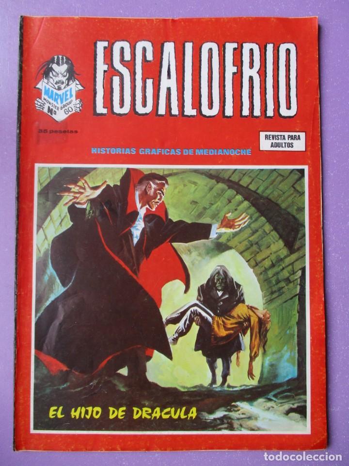 ESCALOFRIO Nº 60 VERTICE ¡¡¡ BUEN ESTADO !!! (Tebeos y Comics - Vértice - V.1)