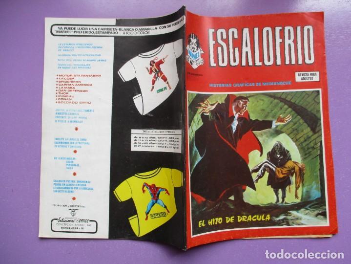 Cómics: ESCALOFRIO Nº 60 VERTICE ¡¡¡ BUEN ESTADO !!! - Foto 3 - 204097905