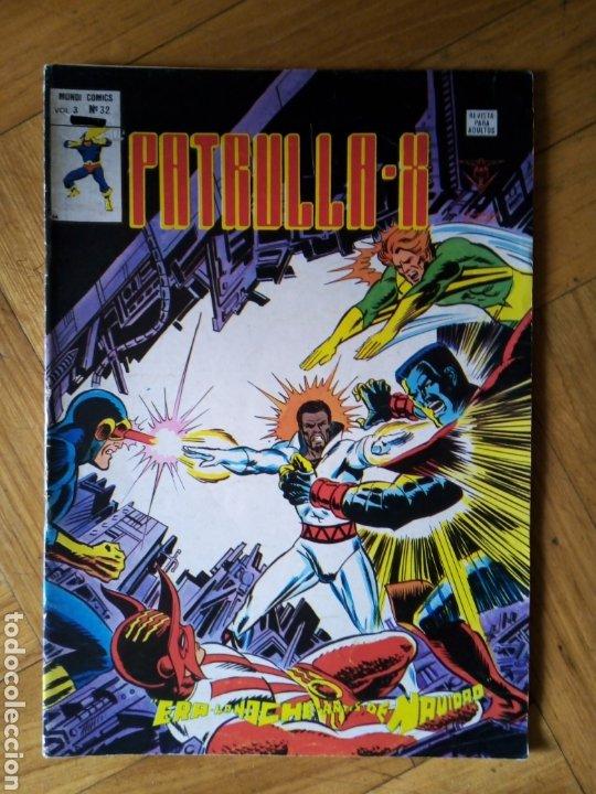 LA PATRULLA X VOL 3 NÚM 32. VÉRTICE (Tebeos y Comics - Vértice - Patrulla X)