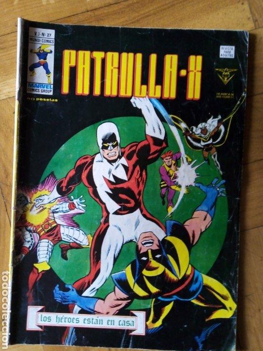 LA PATRULLA X VOL 3 NÚM 27. VÉRTICE (Tebeos y Comics - Vértice - Patrulla X)