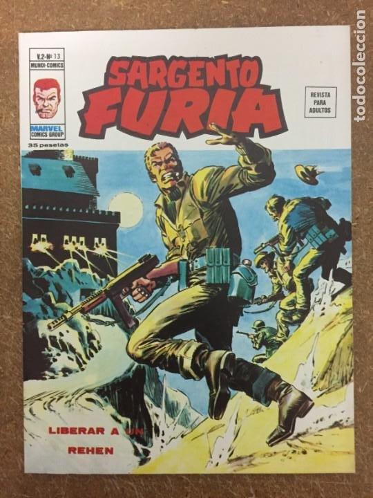 SARGENTO FURIA VOL. 2 - Nº 13 (VÉRTICE) (Tebeos y Comics - Vértice - Furia)