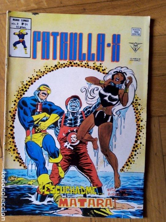 LA PATRULLA X VOL 3 NÚM 34. VÉRTICE (Tebeos y Comics - Vértice - Patrulla X)