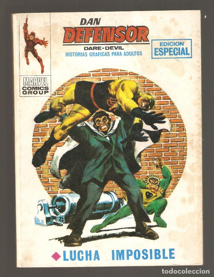 DAN DEFENSOR - Nº 12 - VÉRTICE - 1970 - LUCHA IMPOSIBLE - (Tebeos y Comics - Vértice - Dan Defensor)