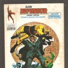 Cómics: DAN DEFENSOR - Nº 12 - VÉRTICE - 1970 - LUCHA IMPOSIBLE -. Lote 204206522