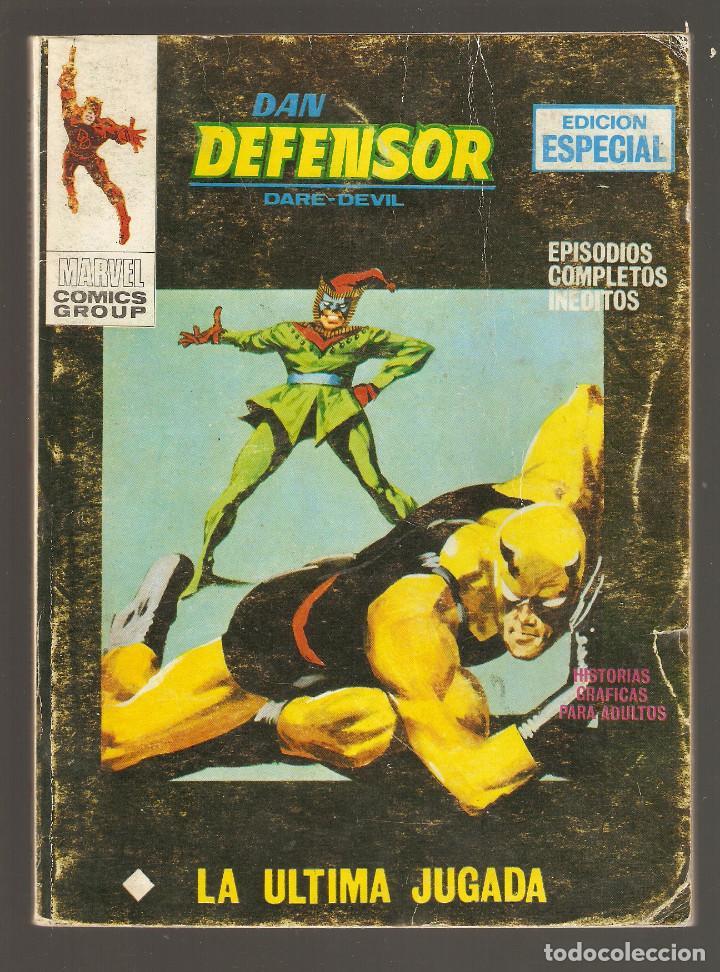 DAN DEFENSOR - Nº 18 - VÉRTICE - 1971 - LA ÚLTIMA JUGADA - (Tebeos y Comics - Vértice - Dan Defensor)