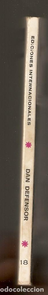 Cómics: DAN DEFENSOR - Nº 18 - Vértice - 1971 - La última jugada - - Foto 3 - 204208446