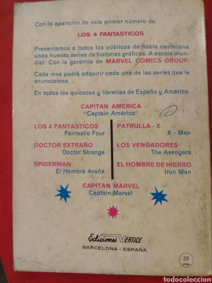 Cómics: PATRULLA X VÉRTICE TACO N. 1 - Primera edición 1969 - Foto 2 - 204216000