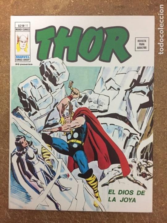 THOR VOL. 2 - Nº 11 (VÉRTICE) (Tebeos y Comics - Vértice - Thor)
