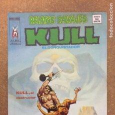 Cómics: RELATOS SALVAJES VOL. 1 - Nº 16. KULL, EL CONQUISTADOR (VÉRTICE). Lote 204265082