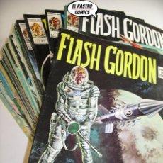 Comics: FLASH GORDON VOL.1 COLECCION COMPLETA 49 Nº, (44 + 5 INEDITOS), VERTICE 1974, VOLUMEN V1, VOL1 (3V). Lote 204371886