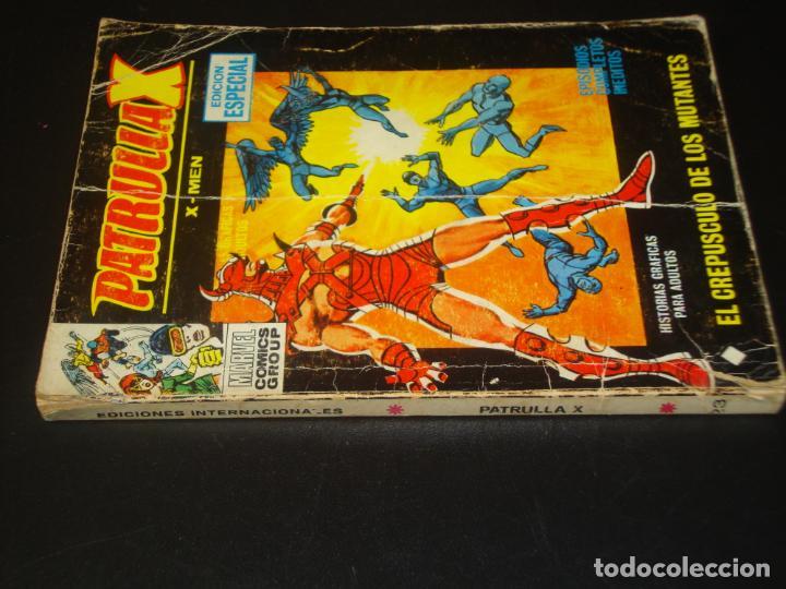 Cómics: Patrulla X 23 El crepusculo de los mutantes Vertice - Foto 2 - 204387610
