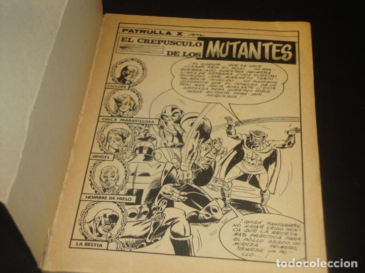 Cómics: Patrulla X 23 El crepusculo de los mutantes Vertice - Foto 5 - 204387610