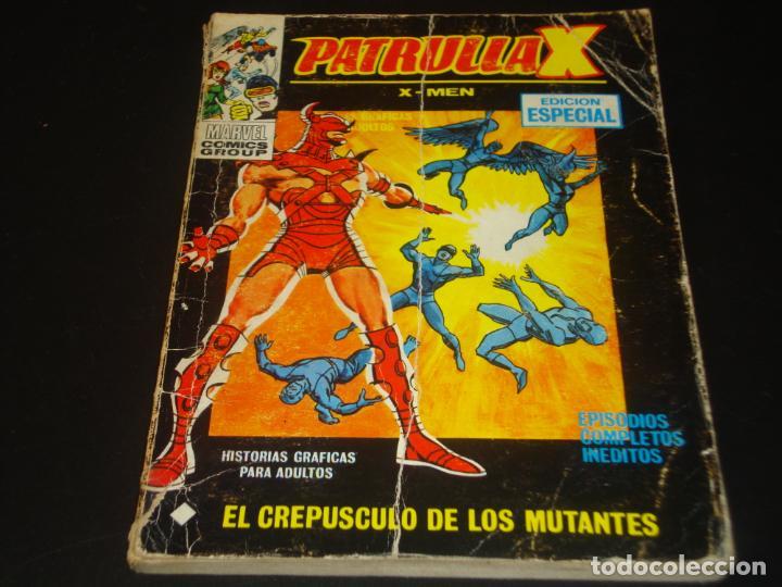 PATRULLA X 23 EL CREPUSCULO DE LOS MUTANTES VERTICE (Tebeos y Comics - Vértice - Patrulla X)
