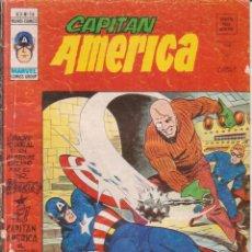 Cómics: CÓMIC ` CAPITÁN AMÉRICA ´ Nº 16 V.3 ED.VÉRTICE 1976 DE 35 PTS.. Lote 204427597
